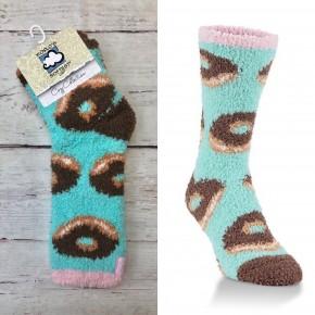 Donut Fuzzy Socks