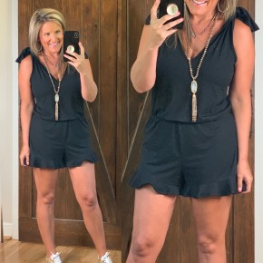 Where Ever The Day Leads Romper