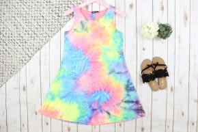 Did You Say Neon Tie Die Dress
