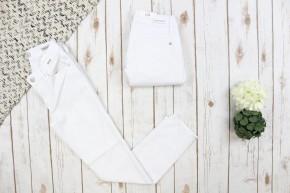 Wonderful White Tulip Hem Judy Blue Jeans
