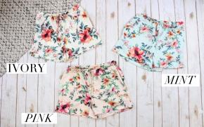Comfy Floral Shorts