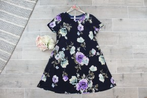Cute AF Floral Swing Dress