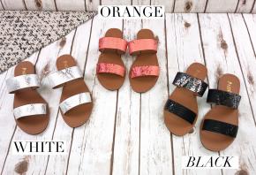 Adorable Double Strap Sandal
