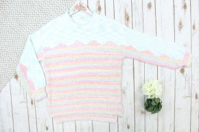 Get Colorful Popcorn Sweater