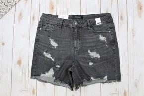 Judy Blue Grey Cut Off Shorts