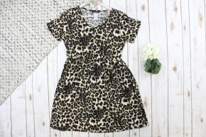 Beautiful Babydoll Cheetah Print Dress