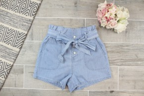Denim Style Linen Short