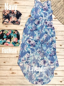 Wrap Me Up In Floral Tank Dress