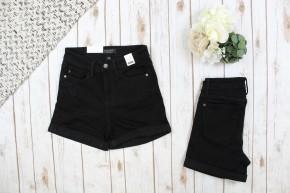 Black High Rise Judy Blue Shorts
