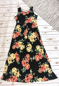 Buttery Soft Floral Maxi Dress