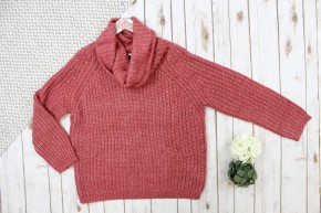 Cute Cowl Neck Sweater