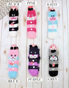 Bunny Slipper Socks