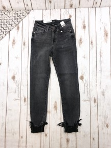 Judy Blue Destroyed Skinny Cuffed Jeans