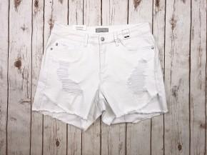 White Distressed Tulip Judy Blue Shorts