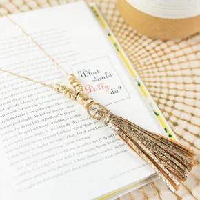 The Megan Tassel Necklace