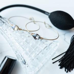 Hot Pink Deal - Latch Bangle Bracelet *Final Sale*