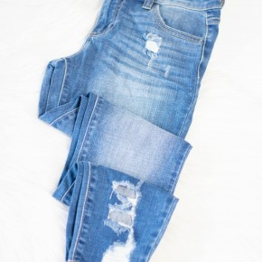 My Favorite Cropped Jeans