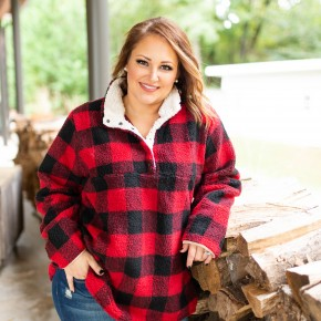 Call Her Lumber Jane Pullover