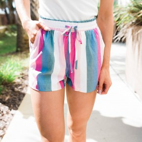 The Santa Rosa Stripe Shorts
