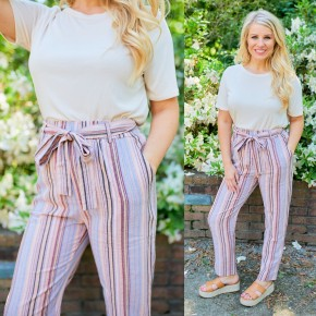 All Striped Up Pants