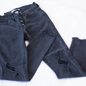 Not Your Mama's Black High Waisted Jeans