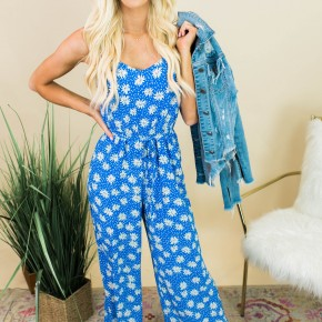 Blue Without You Jumpsuit