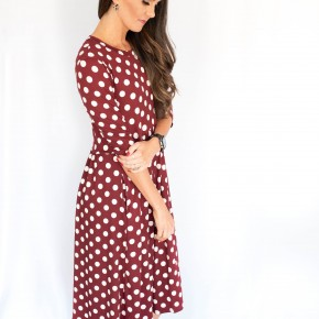 Dot of the Day Dress