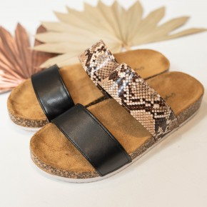 Slide My Way Sandals
