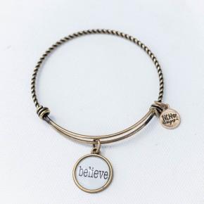 Bangle Bracelet Believe
