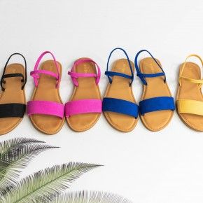 Dreams of Summer Sandals - Hot Pink Deal *Final Sale*