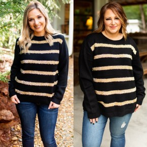 Striped For Fun Holiday Sweater