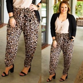 Leopard for Life Plus Pants