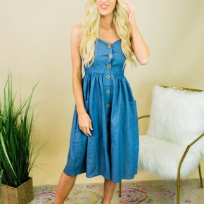 Chambray All Day Dress