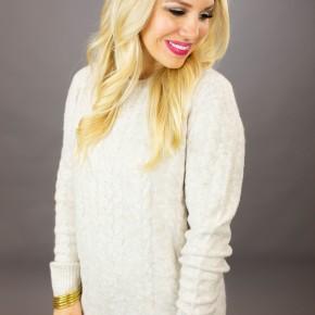 Knit, Knit Hooray! Sweater