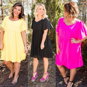 What's The Bright Idea Dress