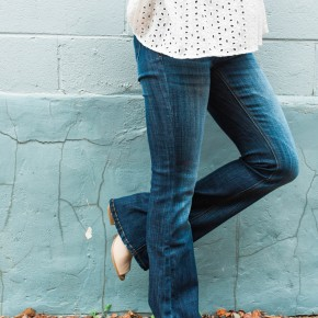 The Daisy Flare Jeans