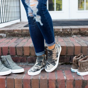 Through With You High Top Sneakers
