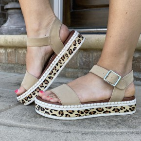 Go-To Cheetah Sandals
