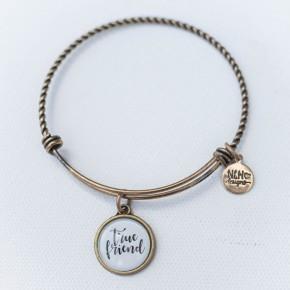 Bangle Bracelet True Friend