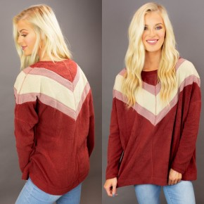 Made for Mauve Pullover