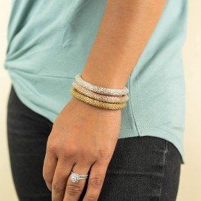 Lily and Laura Bracelet Signature Stack