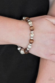 Once Upon A MARITIME - Brown Bracelet