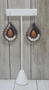Desert Drama - Brown Earrings