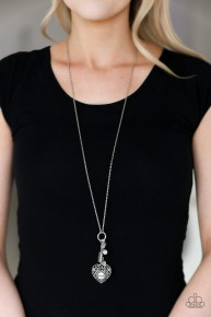Mom Hustle - White Necklace