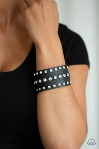 Now Taking The Stage - Black Urban Bracelet