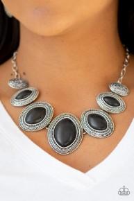 Sierra Serenity - Black Necklace