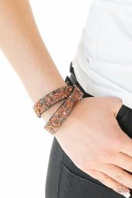 Crush Hour - Brown Urban Bracelet