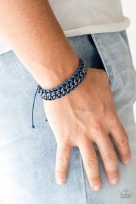 Racer Edge - Blue Urban Bracelet