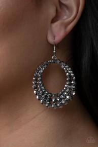 Universal Shimmer - Silver Earrings