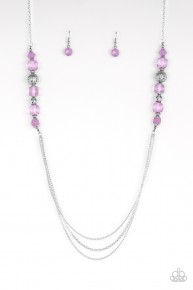 Native New Yorker - Purple Necklace